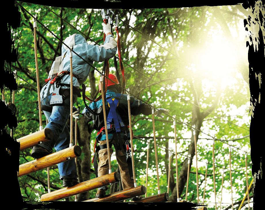 abel klimbos loopbrug! Kom ook klimmen en klauteren op je kinderfeestje!